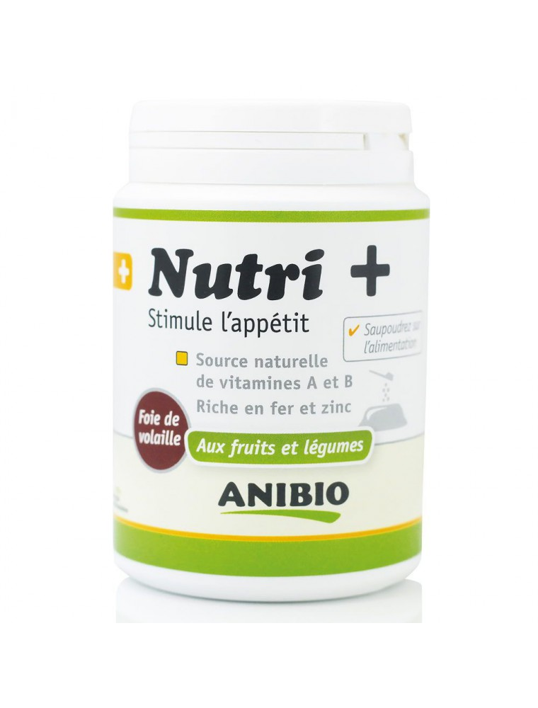 Nutri + - Appétit Chiens & Chats 120 g - AniBio