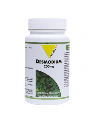 Desmodium 200 mg - Draineur hépatique 100 gélules végétales - Vit'all+