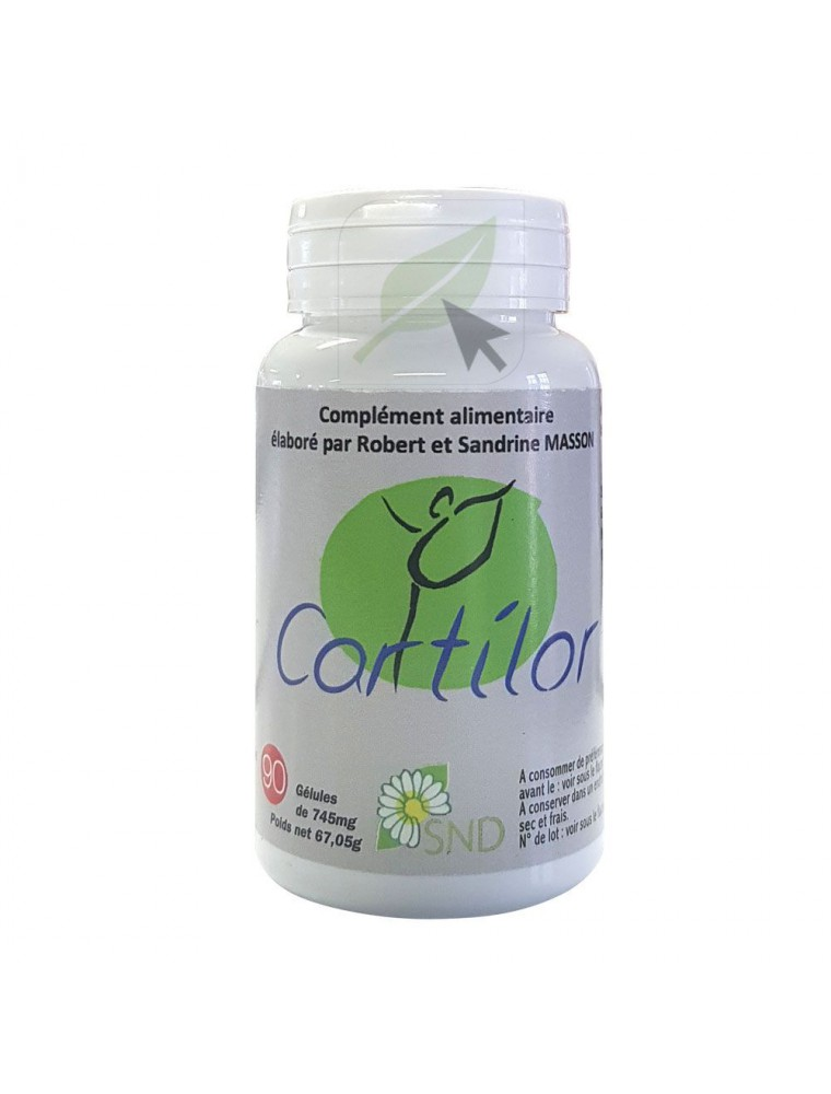 Cartilor - Articulations 90 gélules - SND Nature