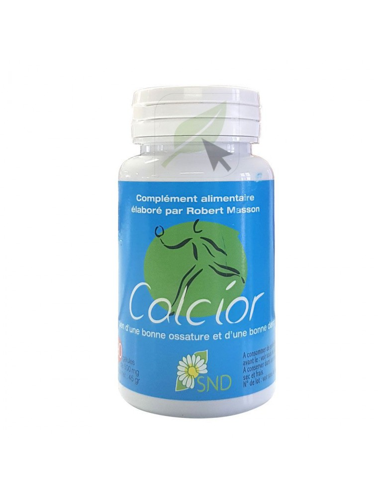 Calcior - Ossature et Dentition 90 gélules - SND Nature