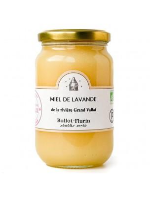 Miel de Lavande Bio - Miel finement cristallisé, aux vertus millénaires 480g - Ballot-Flurin