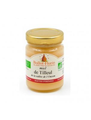 Miel de Tilleul Bio 125g - Parfumé et fleuri, nuit paisible, digestion - Ballot-Flurin