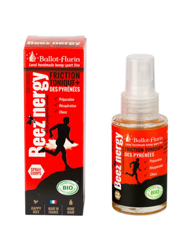 Beez'Nergy Friction Tonique Bio - Sport 50ml - Ballot-Flurin