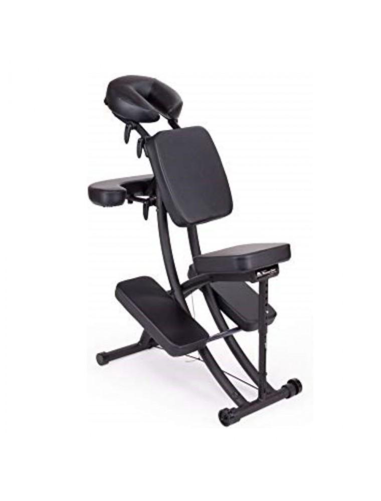 Chaise de massage Portal Pro noire Sissel