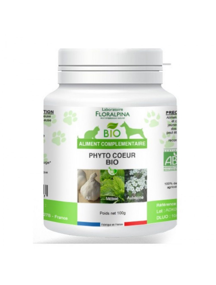 Phyto Cœur Bio - Chiens & Chats 100 g - Floralpina