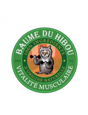 Vitalité musculaire Bio - Prépare les muscles et calme les douleurs 30 ml - Baume du hibou