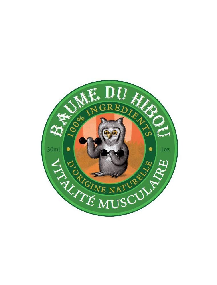 Vitalité musculaire - Prépare les muscles et calme les douleurs 30 ml - Baume du hibou