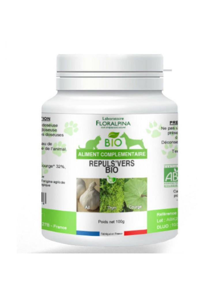 Répuls'vers Bio - Chiens et Chats 100g - Floralpina