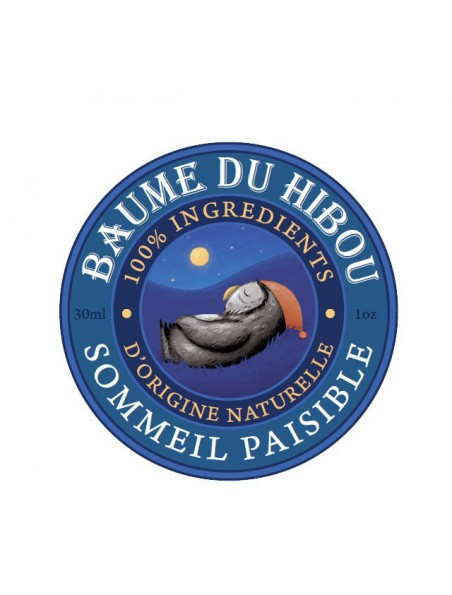 Sommeil paisible Bio - Relaxation réconfortante 30 ml - Baume du hibou