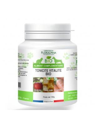 Tonicité Vitalité Bio - Chiens et Chats 100g - Floralpina