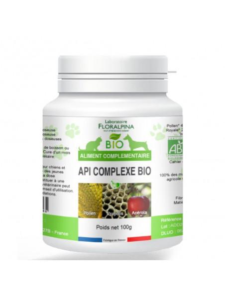 Api'Complexe Bio - Immunité Chiens et Chats 200g - Floralpina