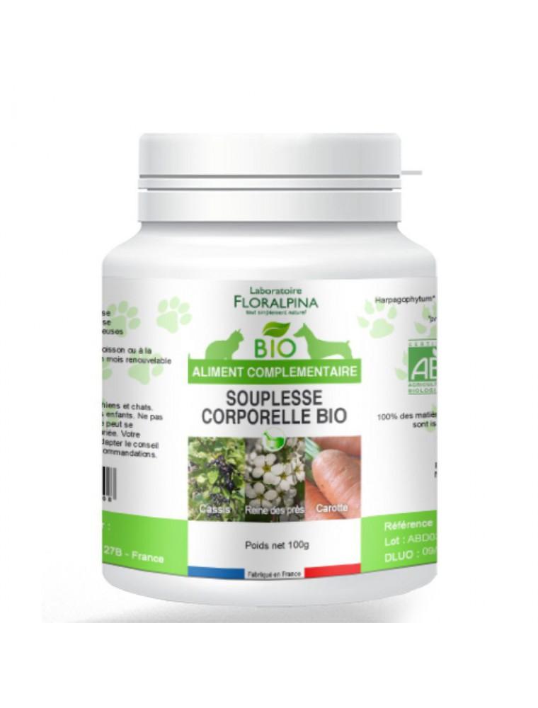 Souplesse corporelle Bio - Souplesse des Chiens et Chats 100g - Floralpina