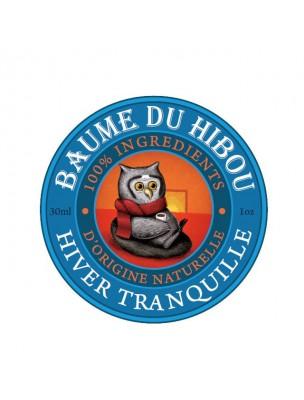 Hiver tranquille - Voies respiratoires 30 ml - Baume du hibou