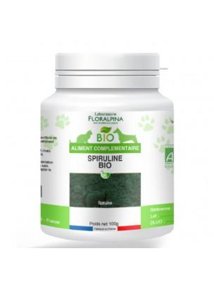 Spiruline Bio - Défenses naturelles des Chiens et Chats 100g - Floralpina