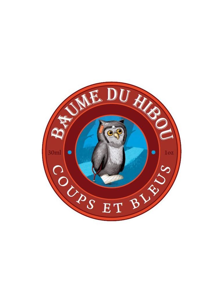 Coups et bleus Bio - Stimulant et décongestionnant 30 ml - Baume du hibou
