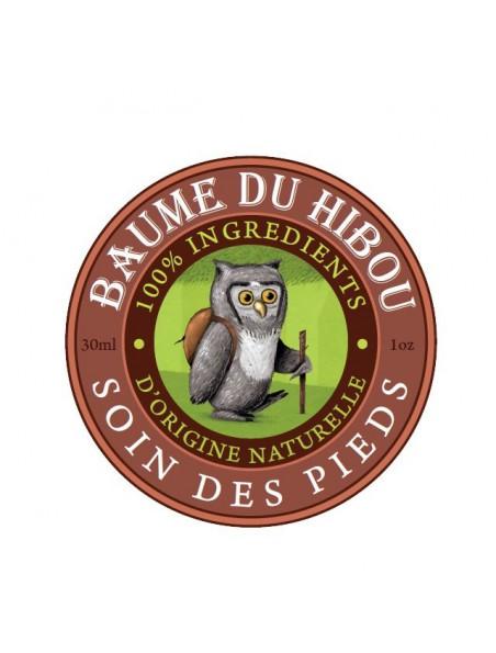 Soin des pieds Bio - Répare et apaise 30 ml - Baume du hibou