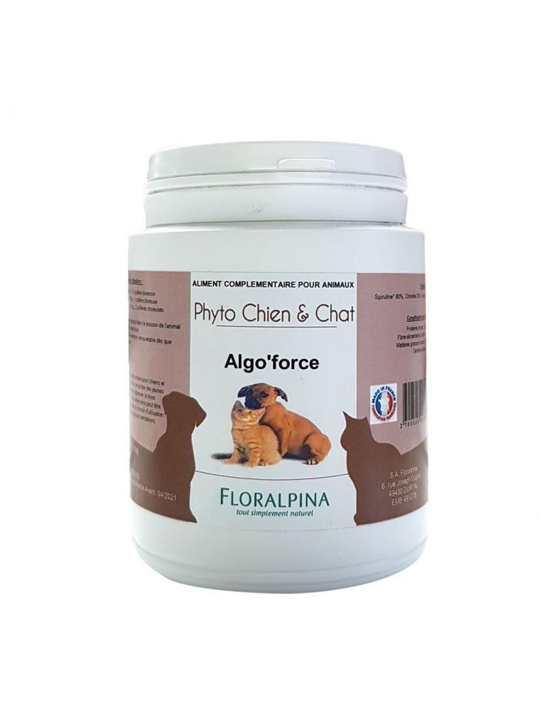 Algo'Force - Vitalité des Chiens et Chats 100g - Floralpina