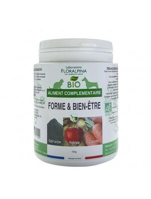 Forme et Bien-être Bio - Vitalité des Chiens & Chats 100 g - Floralpina