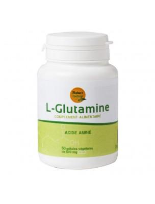 L-Glutamine - Acide aminé 60 gélules - Nature et Partage