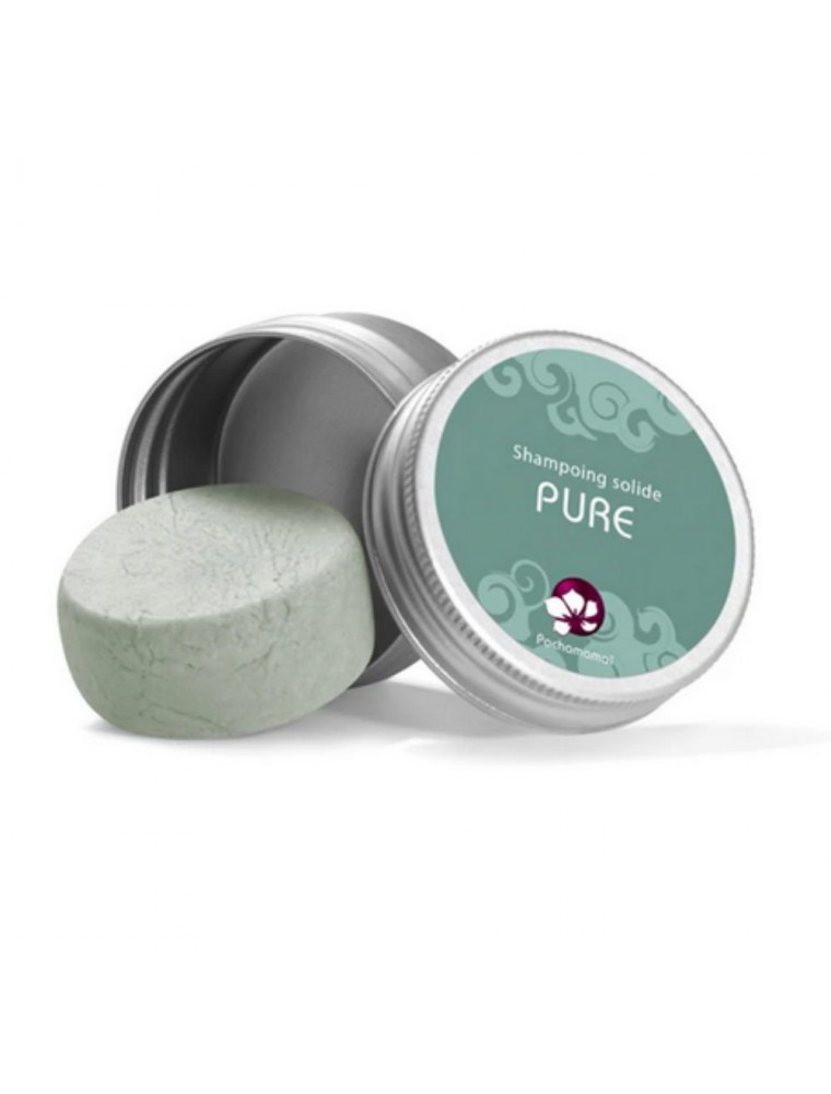 Shampooing solide pour cheveux Normaux - Pure Format voyage 25 g - Pachamamaï