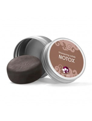 Shampooing solide pour cheveux Gras - Notox Format voyage 25 g - Pachamamaï