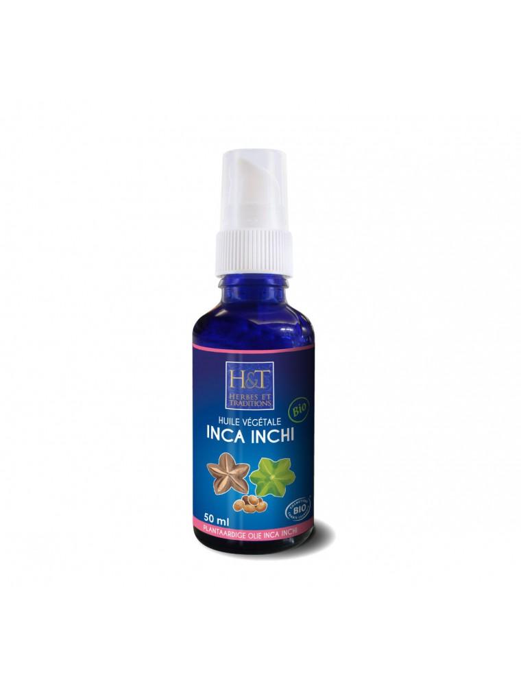 Inca Inchi Bio - Huile végétale de Plukenetia Volubilis 50 ml - Herbes et Traditions