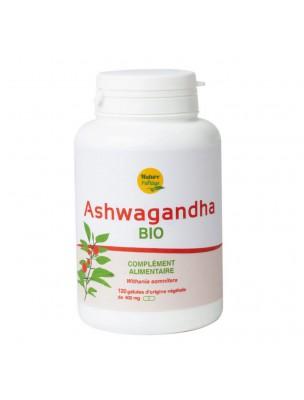Ashwagandha Bio - Stress 120 gélules végétales - Nature & Partage