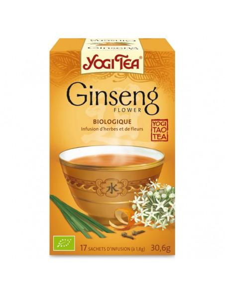 Ginseng - Tonus & vitalité 17 sachets - Yogi Tea