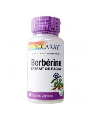 Berbérine - Glycémie et Cholestérol 60 capsules végétales - Solaray