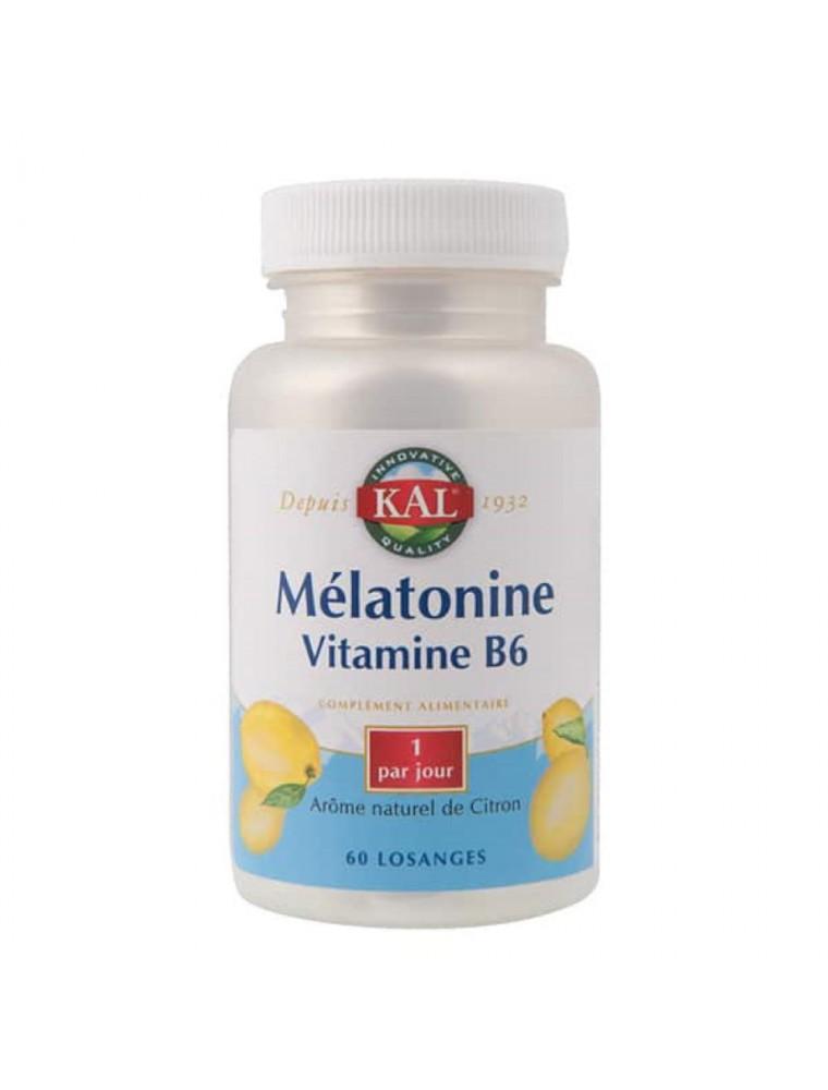Mélatonine Vitamine B6 - Stress et Sommeil 60 comprimés - KAL