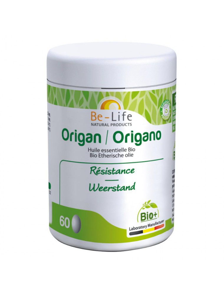 Origan Bio - Résistance 60 capsules - Be-Life