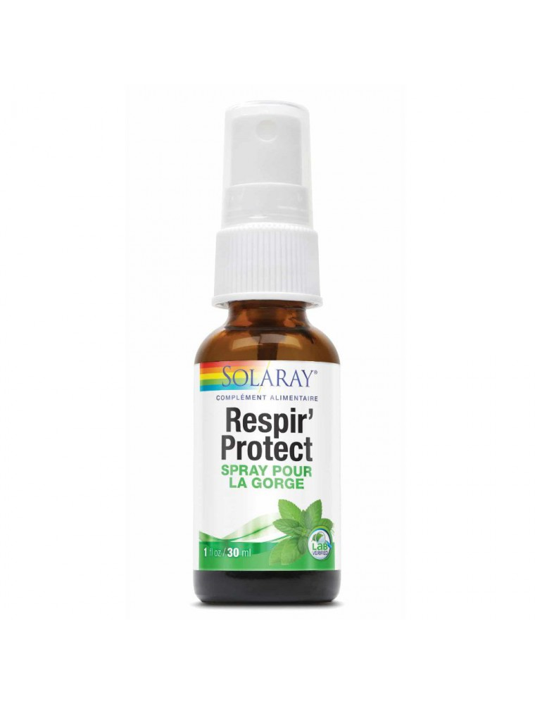 Respir'protect spray - Gorge 30 ml - Solaray