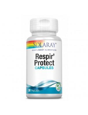 Respir'protect - Voies respiratoires 30 capsules végétales - Solaray