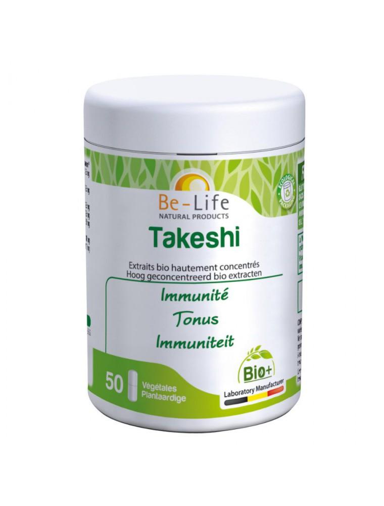 Takeshi Bio - Immunité et Tonus 50 gélules - Be-Life