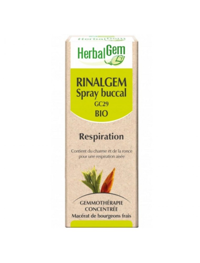 RinalGEM Bio GC29 - Respiration Spray buccal 10 ml - Herbalgem