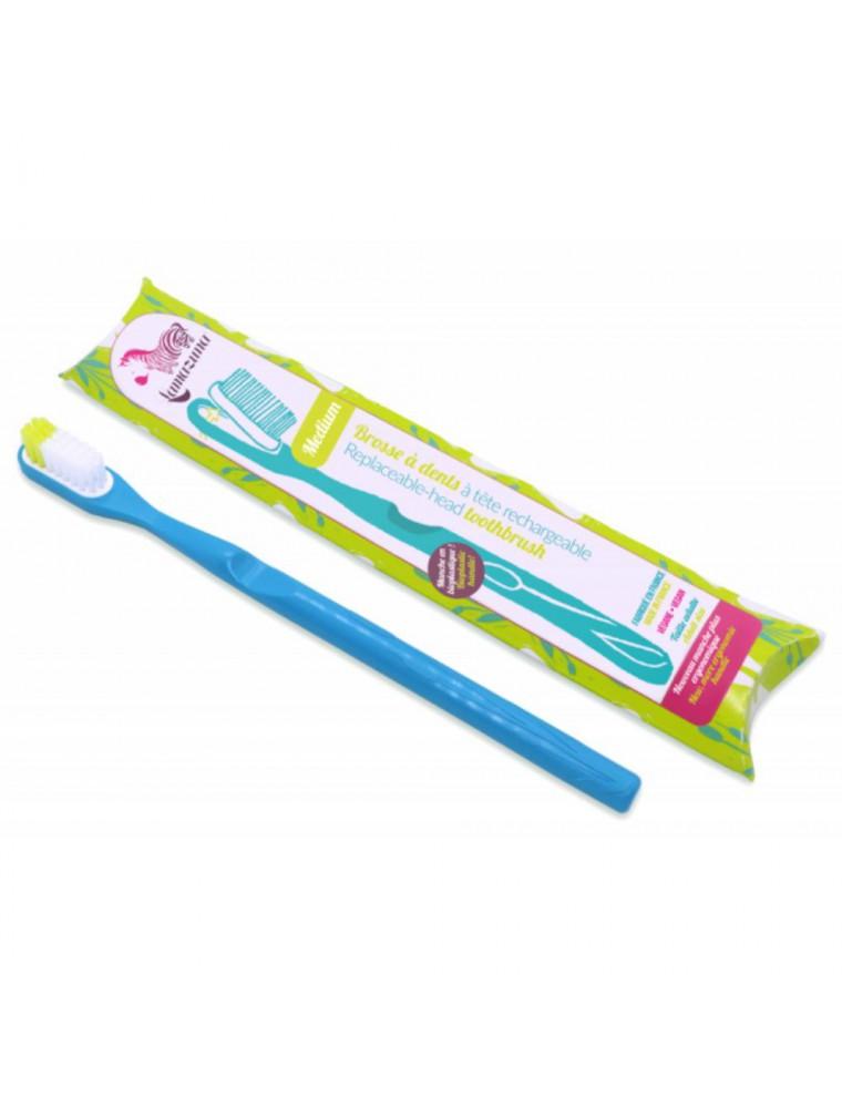 Brosse à dent rechargeable - Souple bleue - Lamazuna