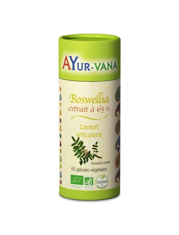 Boswellia Bio - Confort articulaire 60 gélules - Ayur-Vana