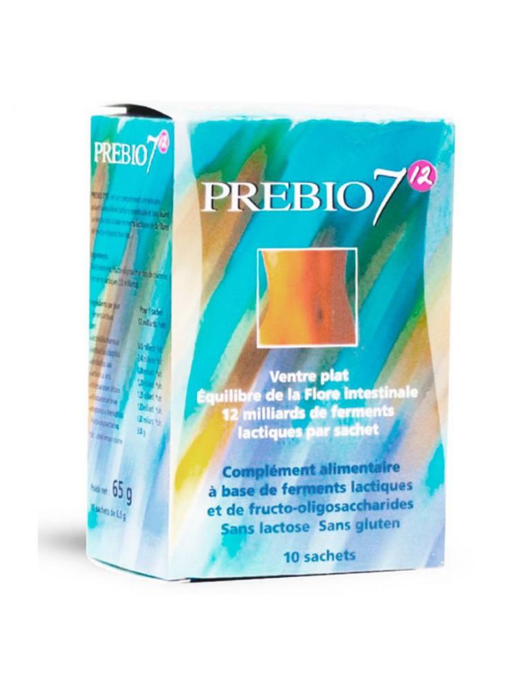Prébio 7 - Flore intestinale 12 milliards de ferments lactiques 10 sachets - Nutrition Concept