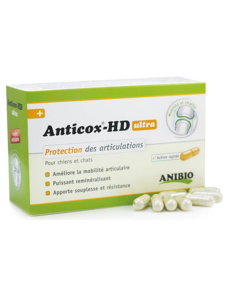Anticox HD ultra - Articulations des chiens et chats 50 gélules - AniBio