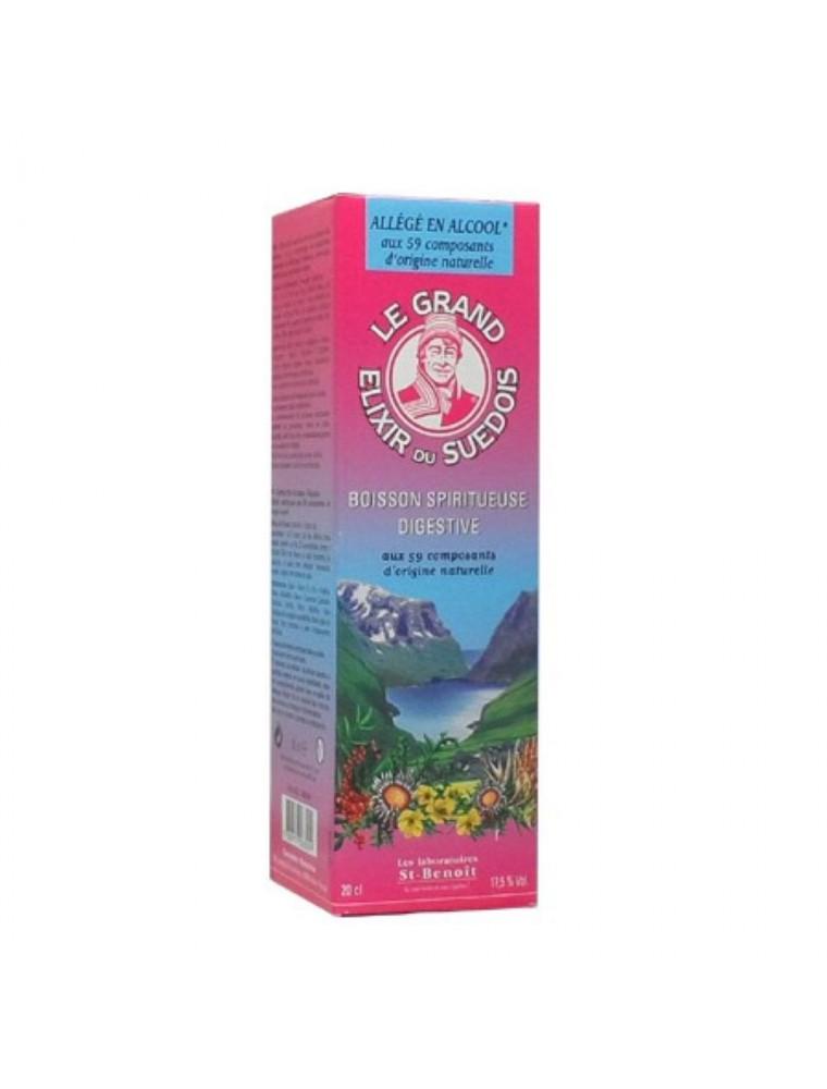Elixir du Suédois 17,5°- Digestif, Tonique et Dépuratif 200 ml - Saint-Benoît
