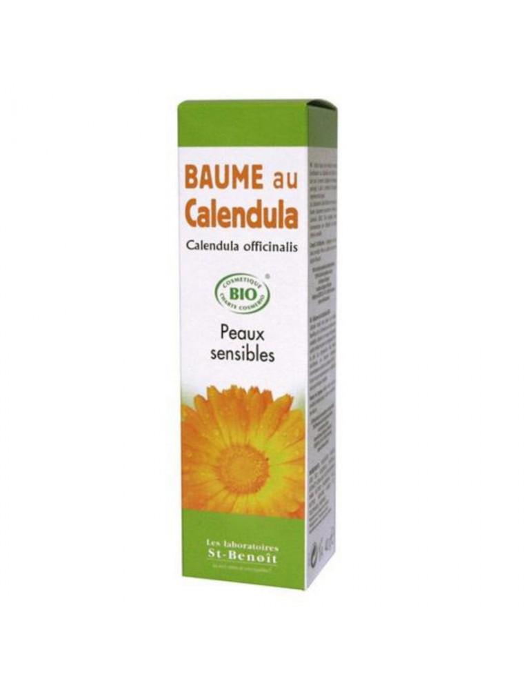 Baume au Calendula Bio - Soin de la peau 40 g - Saint-Benoît