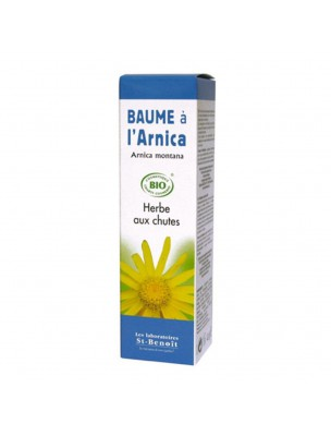 Baume à l'Arnica Bio - Herbe aux chutes 40 g - Saint-Benoît