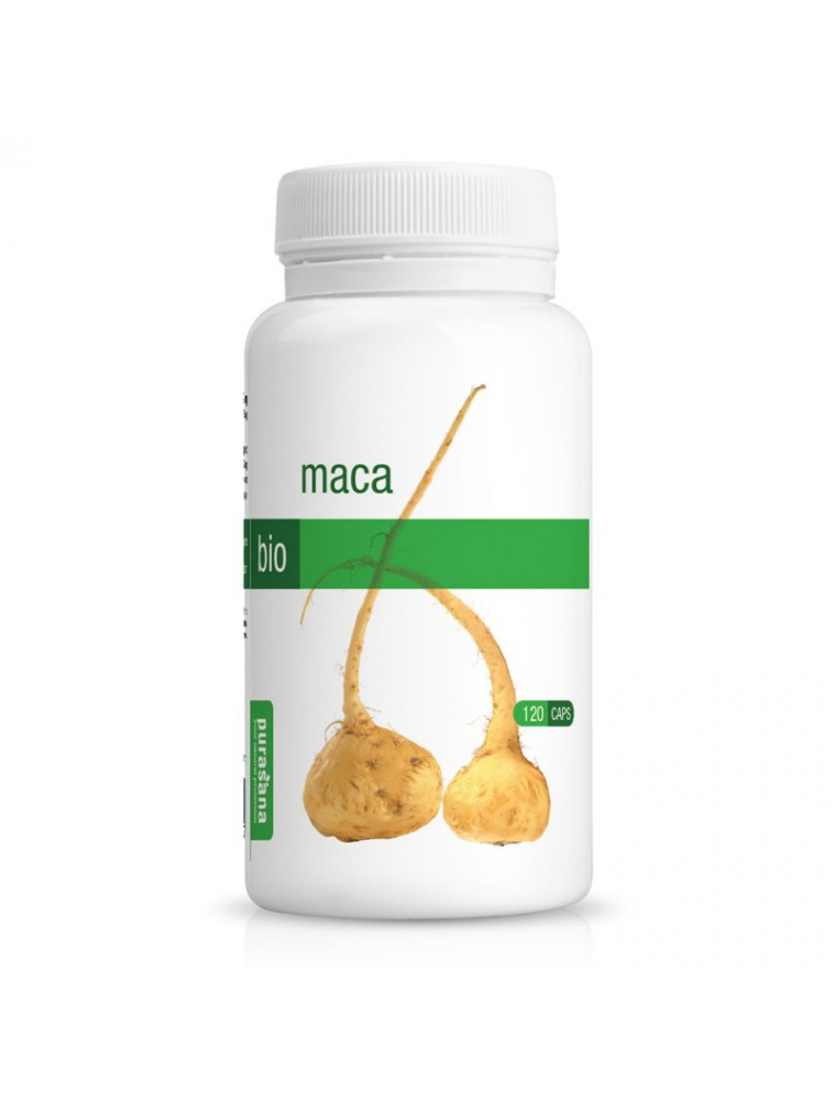 Maca Bio - Tonique 120 gélules - Purasana