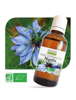 Nigelle Bio - Huile végétale de Nigella sativa 50 ml - Propos Nature