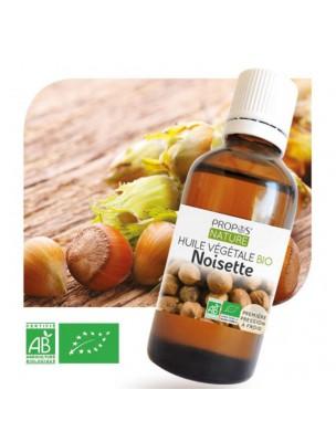 Noisette Bio - Huile végétale de Corylus avellana 50 ml - Propos Nature