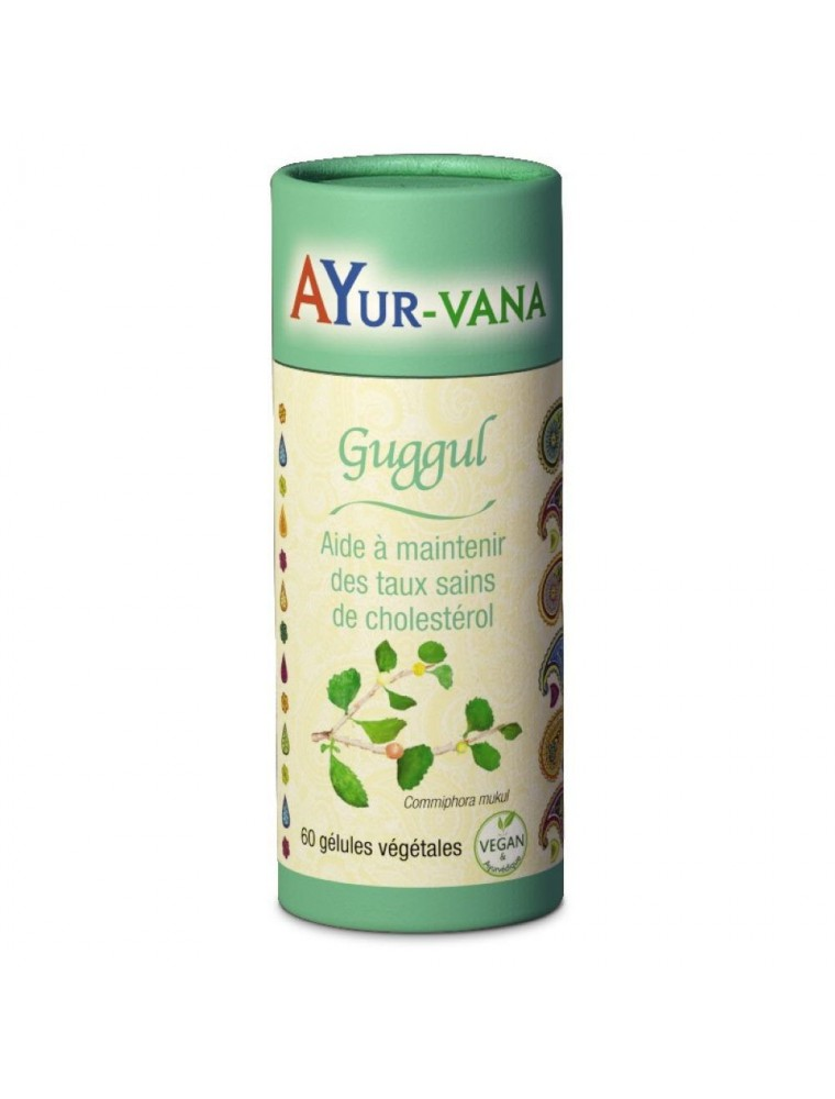 Guggul - Cholestérol 60 gélules - Ayur-Vana