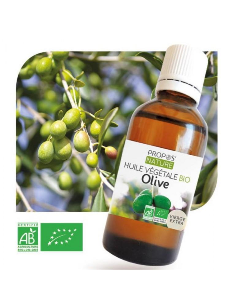 Olive Bio - Huile végétale d'Olea europaea 50 ml - Propos Nature