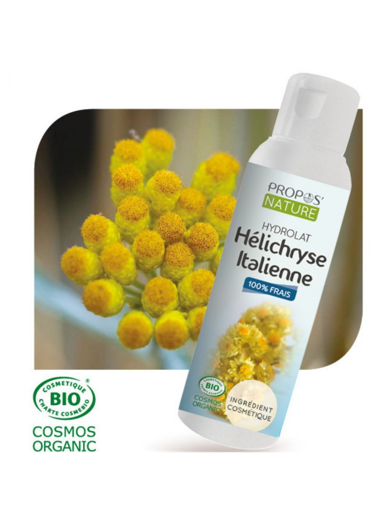 Helichryse italienne Bio - Hydrolat d'Helichrysum italicum 100 ml - Propos Nature