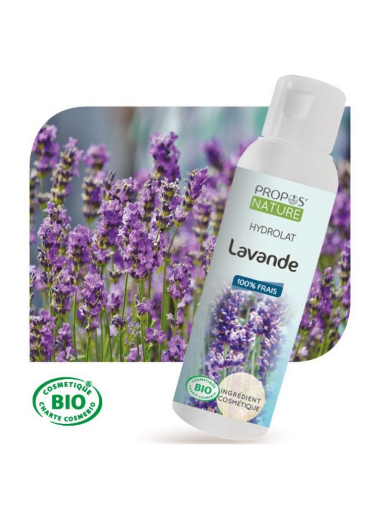 Lavande Bio - Hydrolat de Lavandula angustifolia 100 ml - Propos Nature