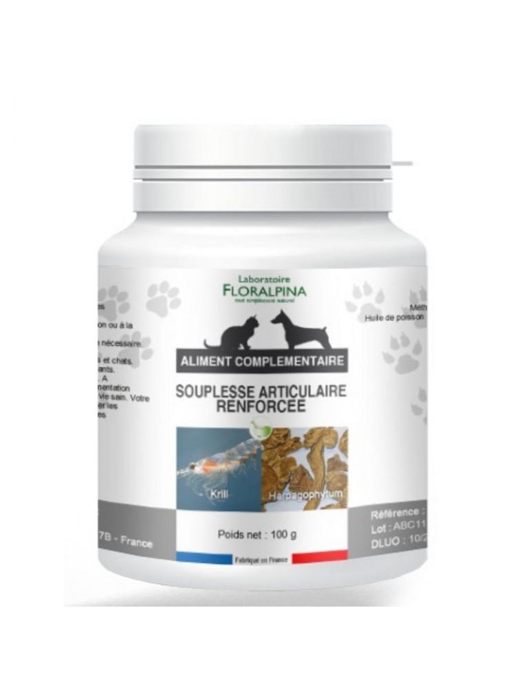 Complexe Souplesse Articulaire Renforcée - Articulations Chiens et Chats 100g - Floralpina